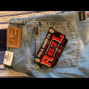 RL67 polo Ralph Lauren straight Fit men's jeans